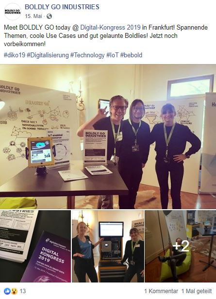 Boldly Go Industries, Digital Kongress, Consulting, Frankfurt