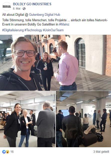 Boldly Go Industries, Gutenberg Digital Hub, Consulting, Frankfurt