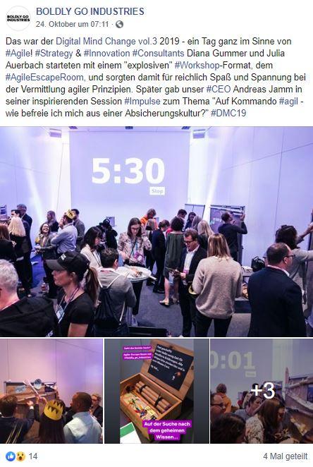 Digital Mind Change, Agile Escape Room, München