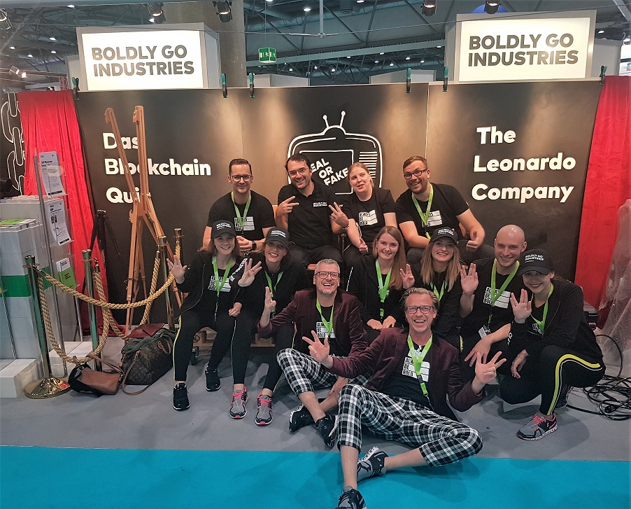 DSAG Jahreskongress 2018, Team, Boldly Go Industries