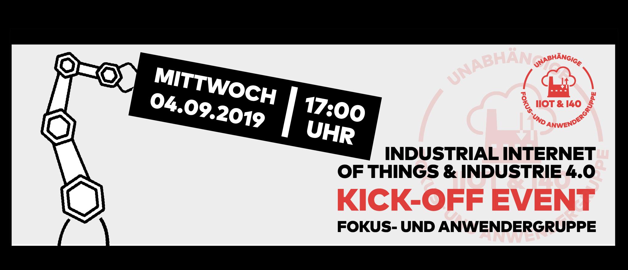 IIoT & Industrie 4.0, Kick-off Event, Fokusgruppe, Anwendergruppe, Mainz, Gutenberg Digital Hub