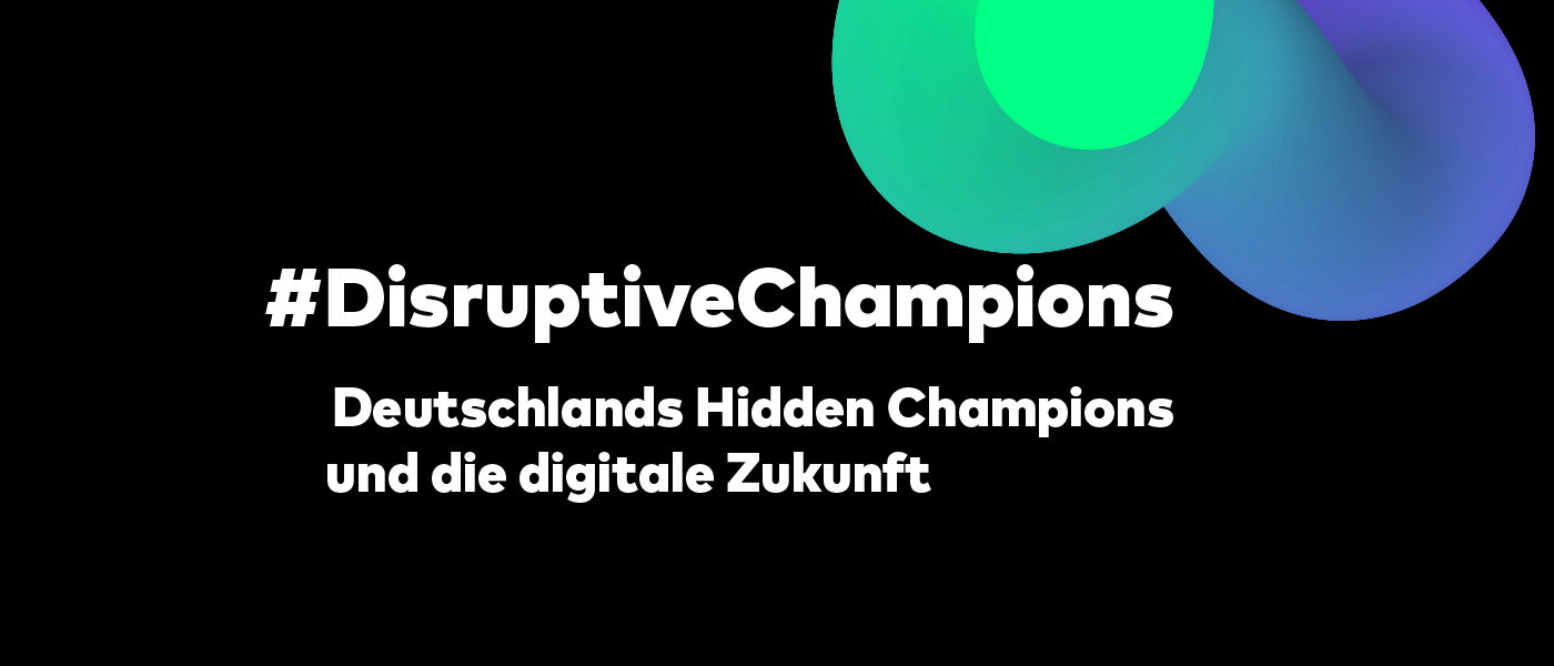 Die Disruptive Champions by BOLDLY GO