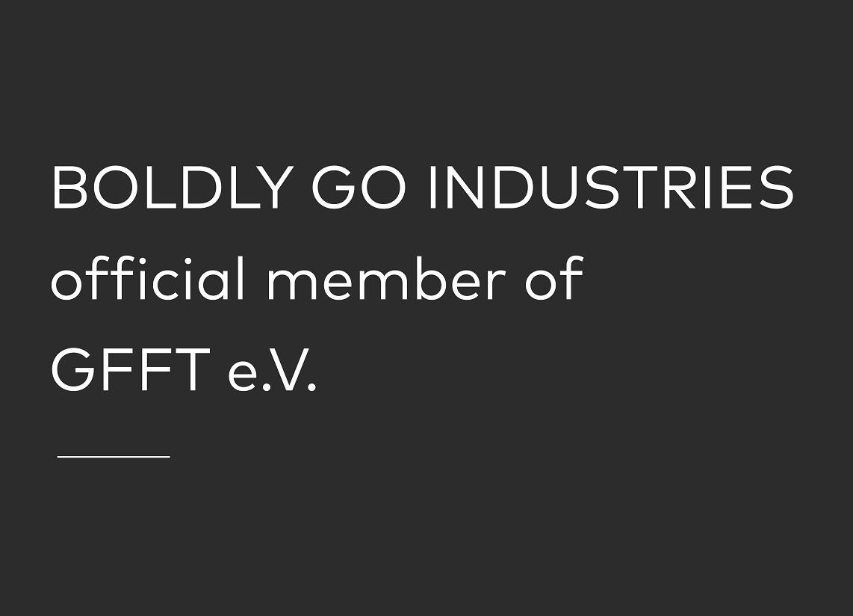 Membership GFFT e.V. grey Landing
