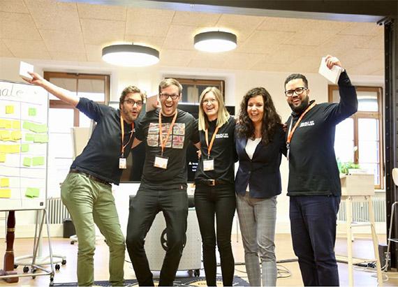 BOLDLY GO gewinnt SAP Hack2Sol