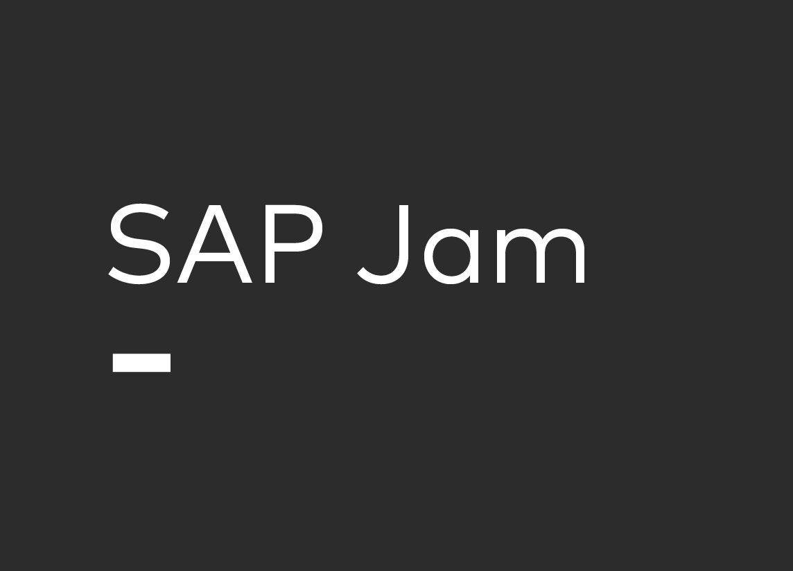 SAP Jam Grau