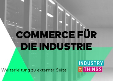 iot commerce, Commerce für die Industrie, kommerzielle Perspektiven, andreas jamm, boldly go, industry of things
